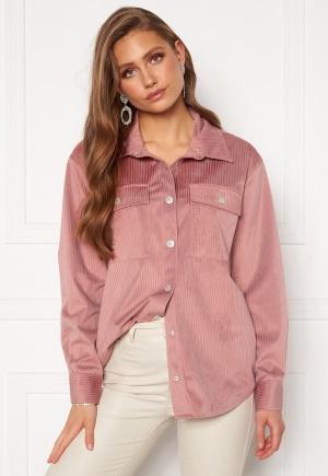 BUBBLEROOM Jila oversized shirt Pink XS