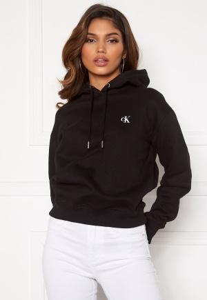 Calvin Klein Jeans CK Embroidery Hoodie BAE CK Black XS