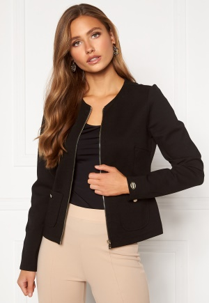 Chiara Forthi Jaquline button jacket Black M