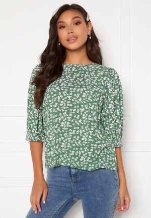 Happy Holly Tris blouse Green / Patterned 36/38