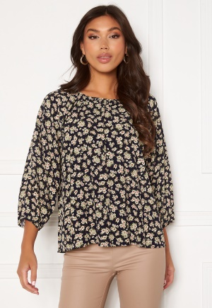 OBJECT Anmira 3/4 Top Sky Captain Flowers 40