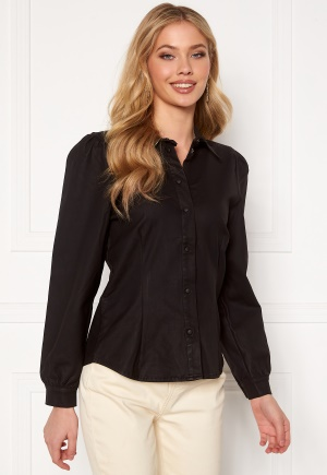 OBJECT Carla Coated Shirt Black XS