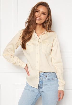 VILA Bista Denim Shirt Birch XL