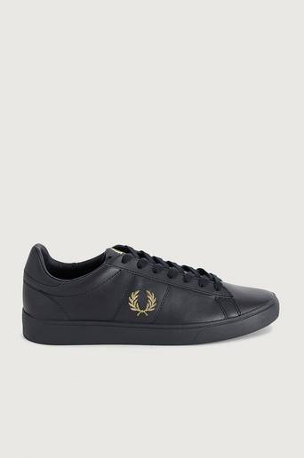 Fred Perry Sneakers Spencer Leather Svart
