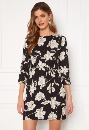 Happy Holly Blenda dress, with belt Floral 44/46S