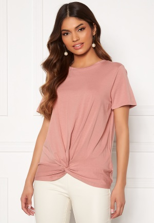 OBJECT Stephanie S/S Top Ash Rose M