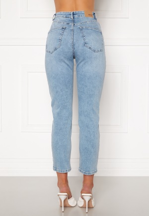 BUBBLEROOM Lana high waist jeans Light blue 34
