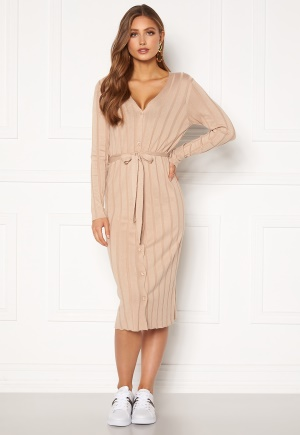 Happy Holly Anabelle long cardigan Beige 36/38