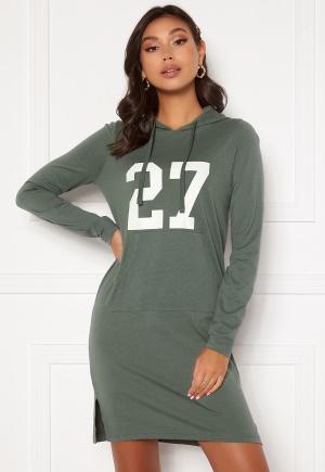 Happy Holly Camila tricot hood Khaki green 36/38