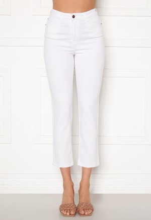 Happy Holly Peggy straight leg jeans White 34