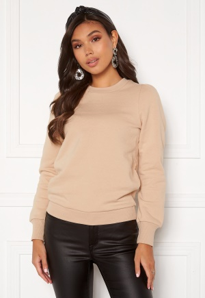 Happy Holly Veronica puff top Light beige 36/38