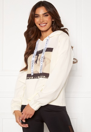 KENDALL + KYLIE K&K Active Photo Hoodie White S