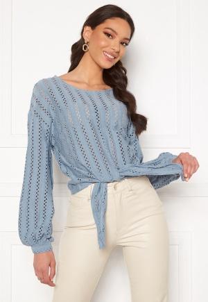 VILA Piline L/S T-Shirt Ashley Blue S