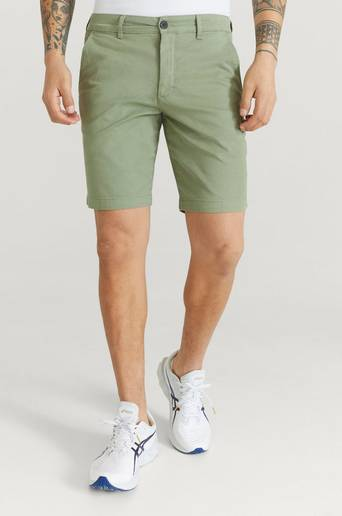 Lyle & Scott Shorts Chino Short Grön