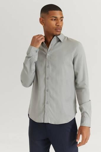 Studio Total Skjorta Favourite Lyocell Shirt Grå
