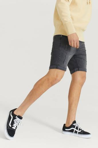 William Baxter Jeansshorts Toby Skinny Fit Shorts Svart