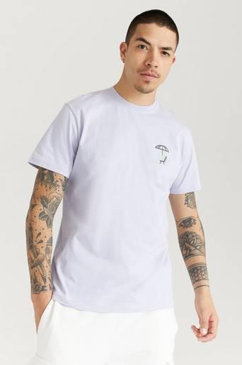 Woodbird T-Shirt Klix Suntan Tee Lila