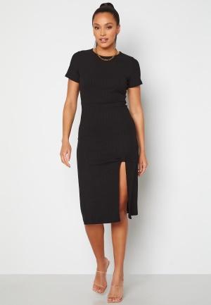 Alexandra Nilsson X Bubbleroom Slit Dress Black L