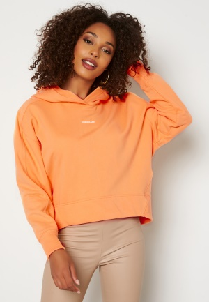 Calvin Klein Jeans Micro Branding Hoodie SFX Crushed Orange S
