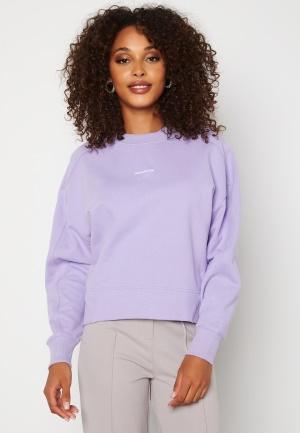 Calvin Klein Jeans Micro Branding Sweatshirt V0K Palma Lilac XL