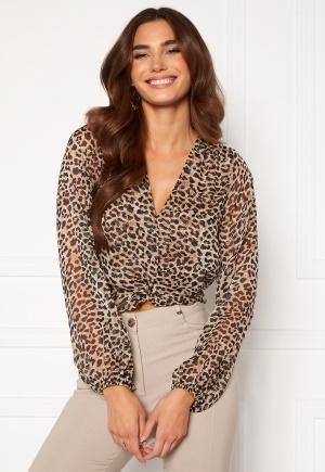 Chiara Forthi Lorenza blouse Leopard S