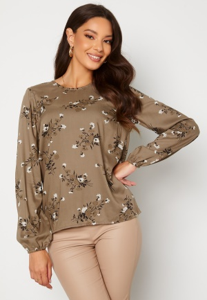 Happy Holly Cecilia blouse Mole / Patterned 40/42