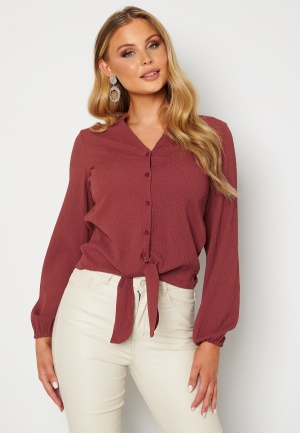 Happy Holly Lina knot blouse Pink 36/38