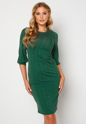 Happy Holly Zona dress Green / Floral 44/46