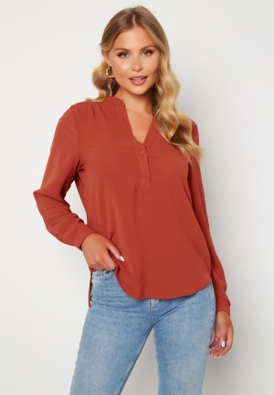 SELECTED FEMME Mivia LS Top Chili Oil 34
