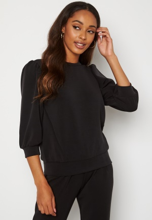 SELECTED FEMME Tenny 3/4 Sweat Top Black S