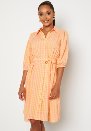 Sisters Point Vibby Dress 841 L. Pink/Banana L