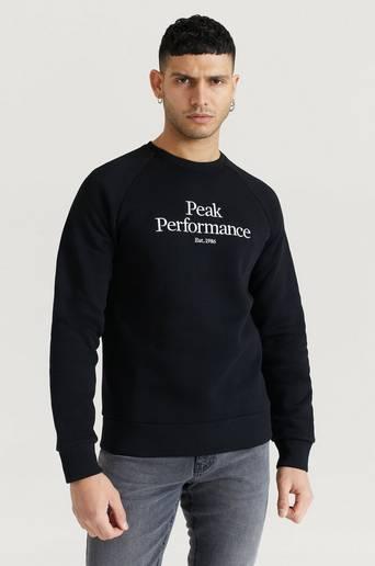 Peak Performance M Original Crew Svart