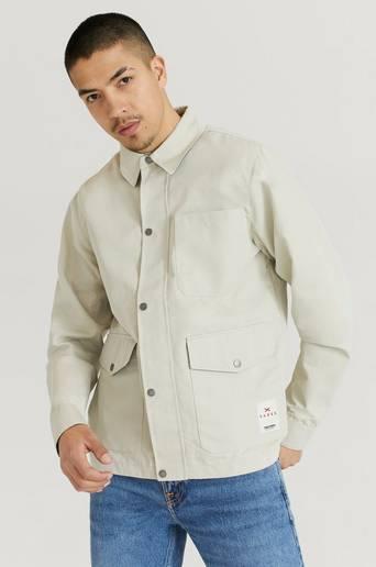 Tretorn Overshirt Sarek Shirt Jacket Men Beige